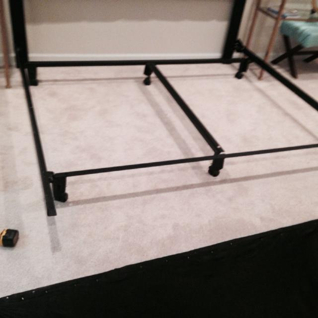 King Size Leggett And Platt Instamatic Bed Frame With Wheels