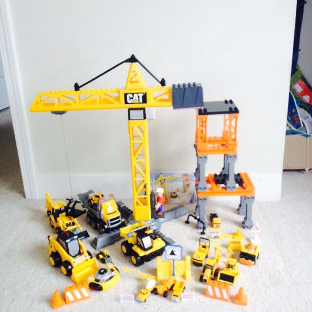 Find More Mega Blocks Construction Set Cat Mini Machinery Remote