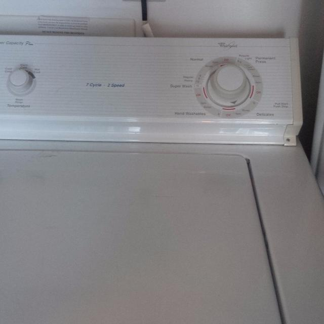 Best Whirlpool Washer 7 Cycle 2 Speed For Sale In Gastonia