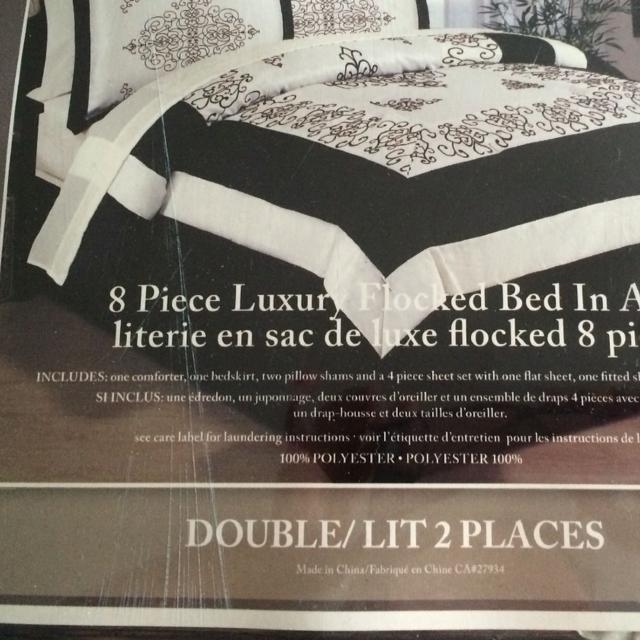 Find More Double Bed Comforter And Pillow Shams Part Of A Set I