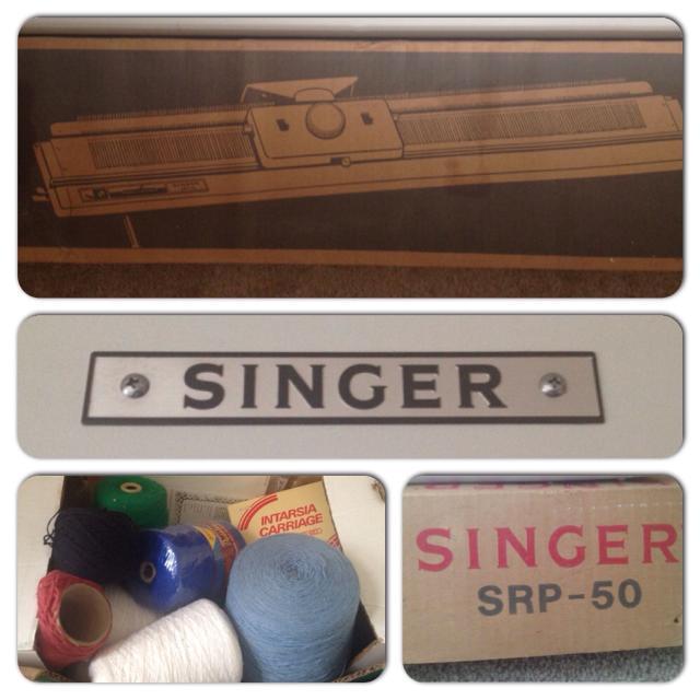 New Price Singer Srp 50 Knitting Machine