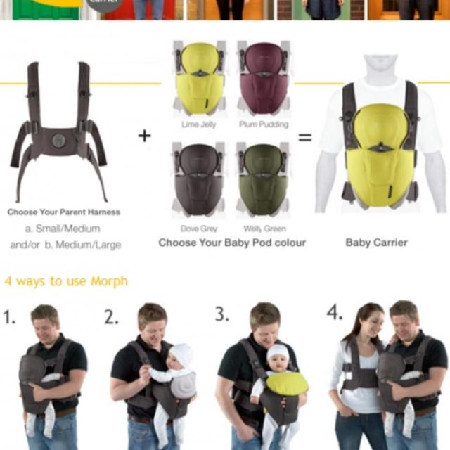 72d720d9be2 Best Mamas   Papas Morph Baby Carrier for sale in McDonough