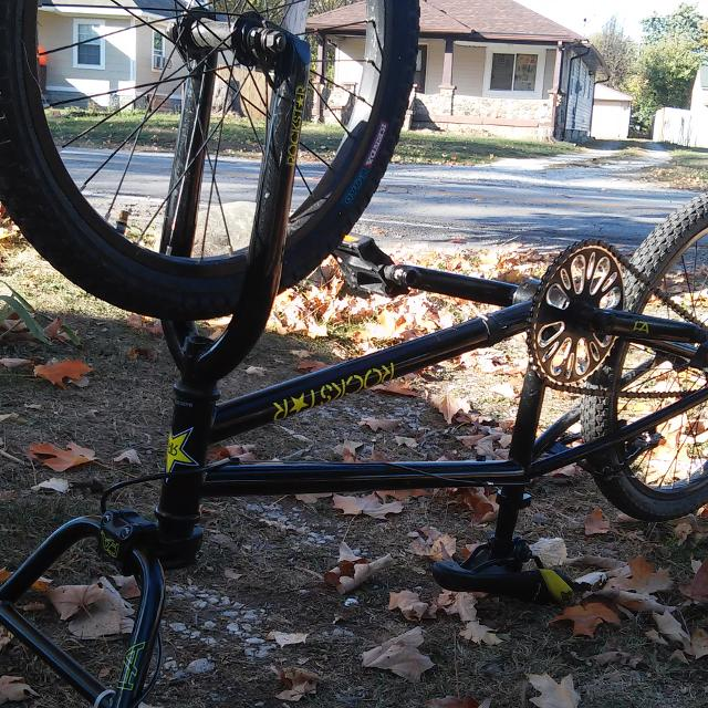 Best Rare Rockstar Free Agent Bmx Bicycle Only 100 Made Like