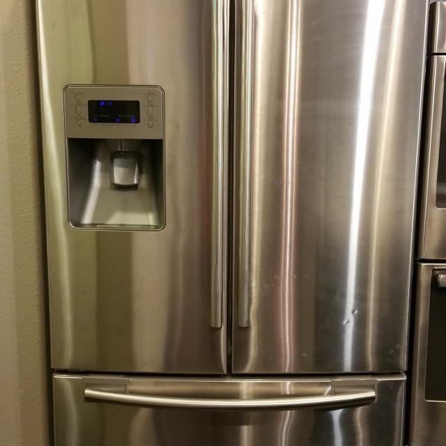 free freezer refrigerator frost with bottom ice french appliance houzz refrigerators door makers dual maker summit