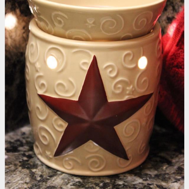 Rustic Star Scentsy Warmer