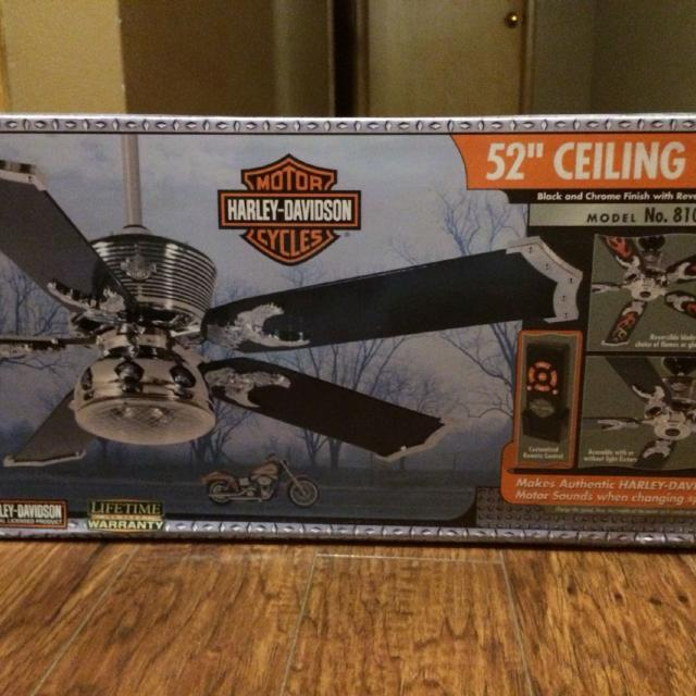 Find more 52 harley davidson remote control ceiling fan reduced 52 harley davidson remote control ceiling fan reduced 175 aloadofball Image collections