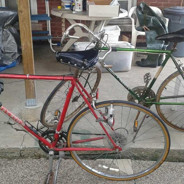 f22f52f681f Best 2 10speed Bike Lot..vintage Raleigh 502 And Schwinn Varsity..both Bikes  Need Some Love But Not In That Bad Of Shape Varsity Has No Chain Pu for  sale in ...