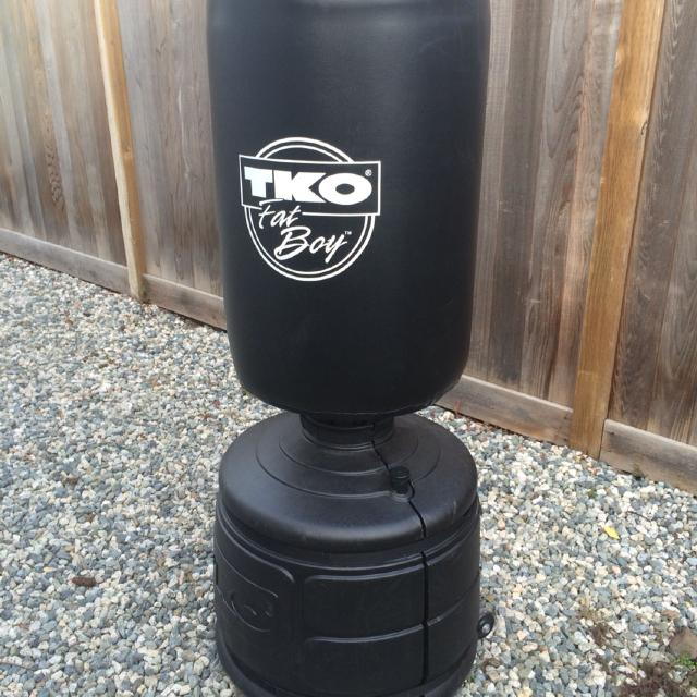 Tko Stand Up Punching Bag Gloves 60