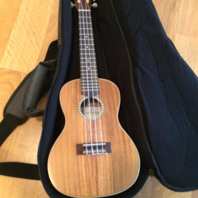 best cordoba 25ck concert ukulele with deluxe gig bag for sale in austin texas for 2019. Black Bedroom Furniture Sets. Home Design Ideas