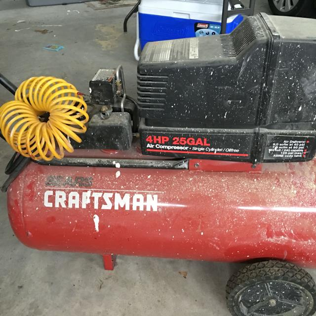 Find More Craftsman 4 Hp 25 Gallon Air Compressor For Sale At Up To 90 Off