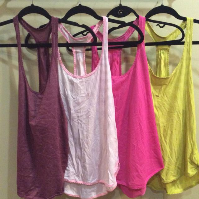 38a94d4e9b Find more Silverecent Size 6 Lululemon Yoga Tops Only Citron ...