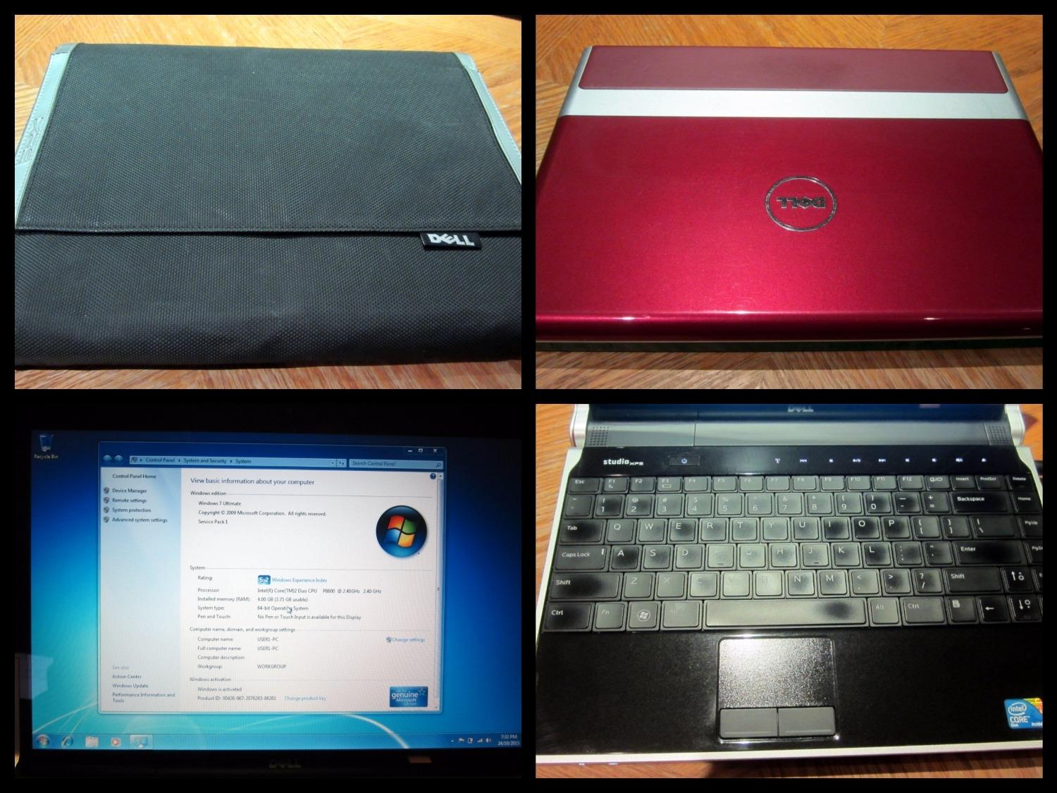DELL StudioFPS M1340 Laptop - Used but in Excellent Condition