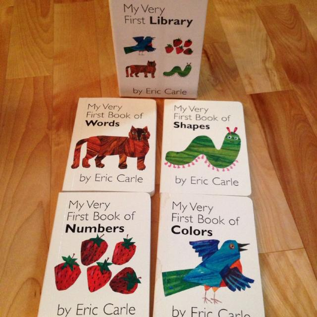 Find more Eric Carle My Very First Library Board Book Box Set! for ...