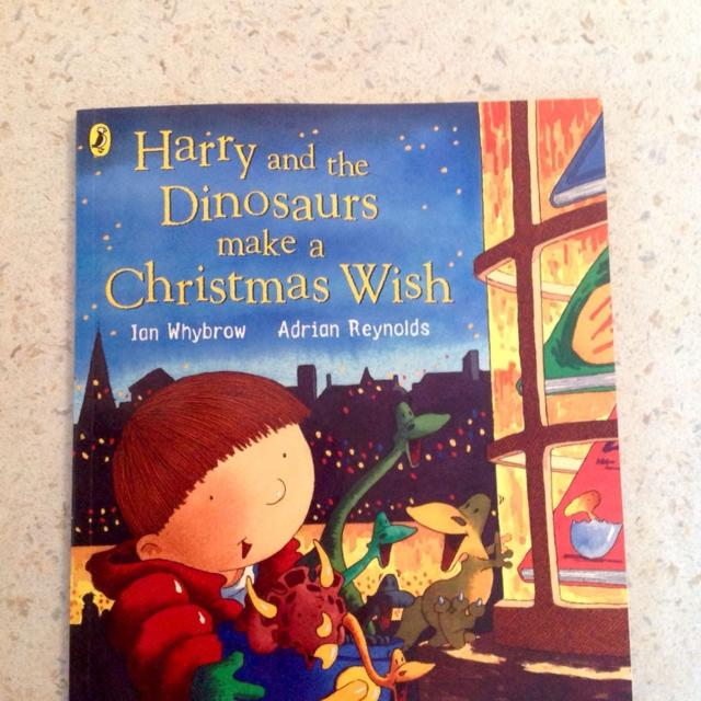 Harry and the Dinosaurs make a Christmas wish book excellent condition   Collection Harnham  £2 00