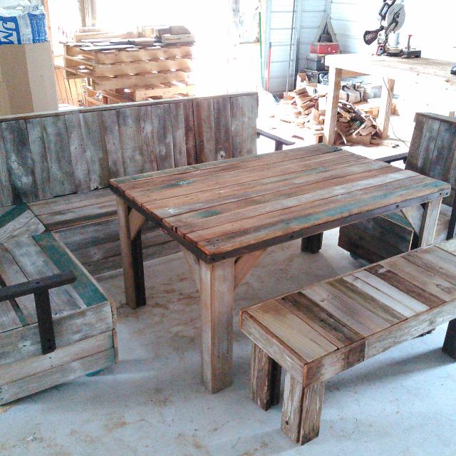 Best Patio Dining Sets Fencing Pallets Tables Benches For Sale