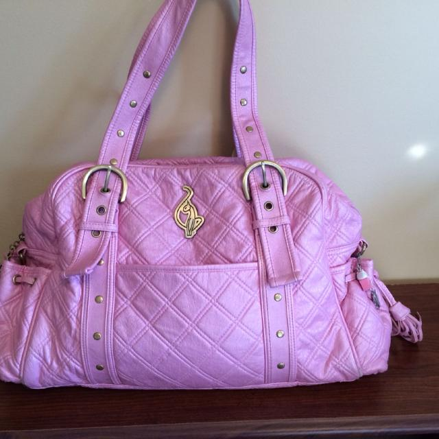 Reduced New Condition Huge Baby Phat Diaper Bag Or Purse Many Features