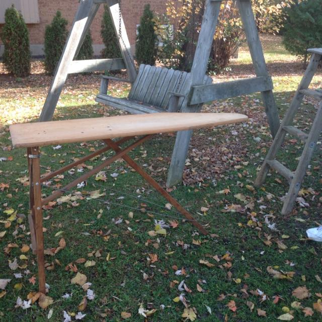 Find More Old Wooden Ironing Board Great For Displaying Items Or As