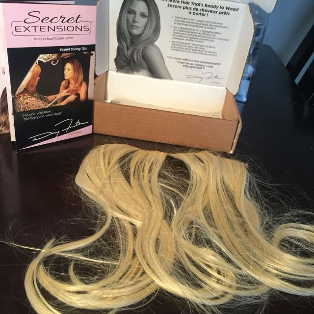 Best Blonde Secret Extensions Hair Extensions Brand New For Sale
