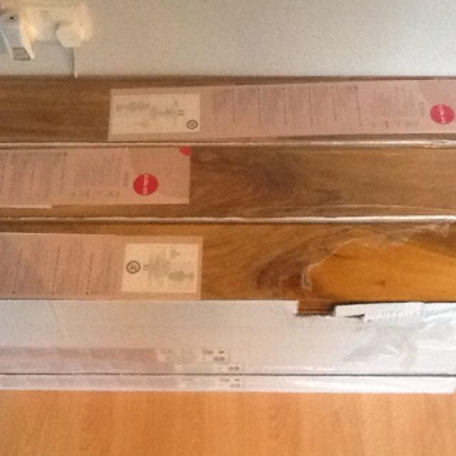 Dolce High Gloss Walnut Laminate Flooring