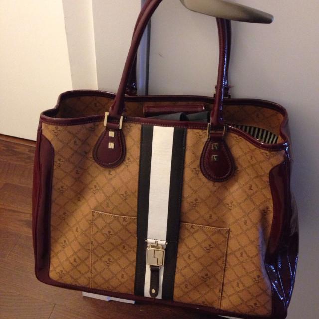 Authentic L A M B Gwen Stefani Xl Devon Tote Bag