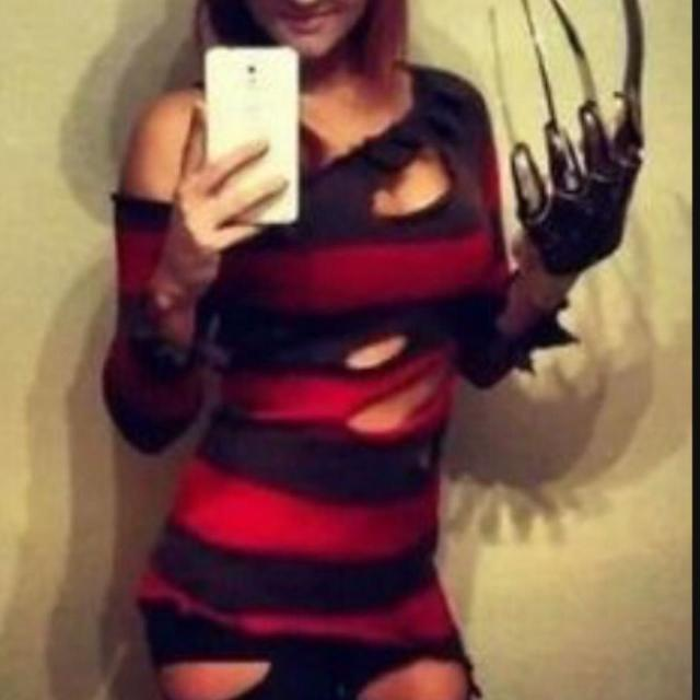 Find More Nwt Womens Hot Topic Freddy Krueger Sexy Halloween