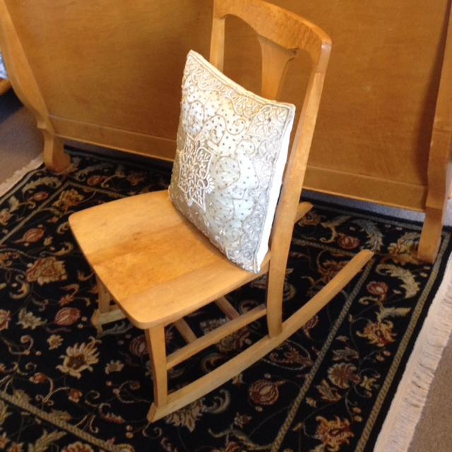 Antique Birds Eye Maple Rocking Chair - Find More Antique Birds Eye Maple Rocking Chair For Sale At Up To 90
