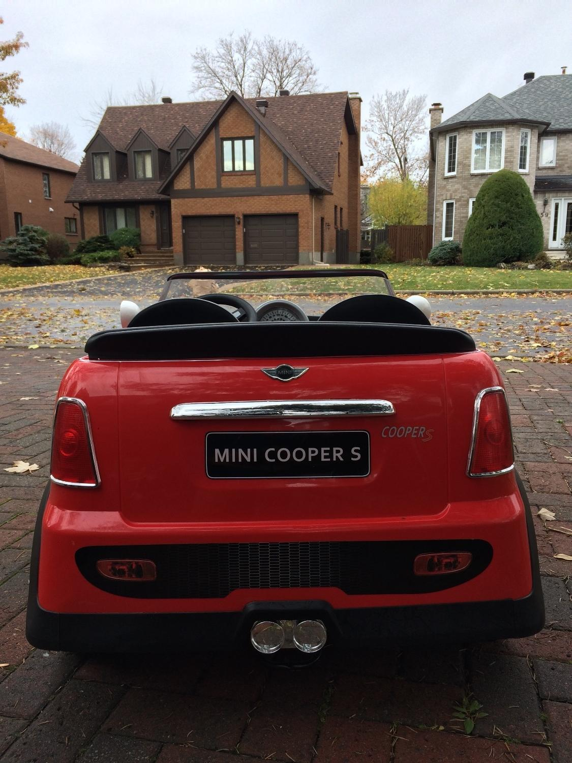 Best Mini Cooper Battery Ed Kids Car 2 Seater For In Dollard Des Ormeaux Quebec 2019