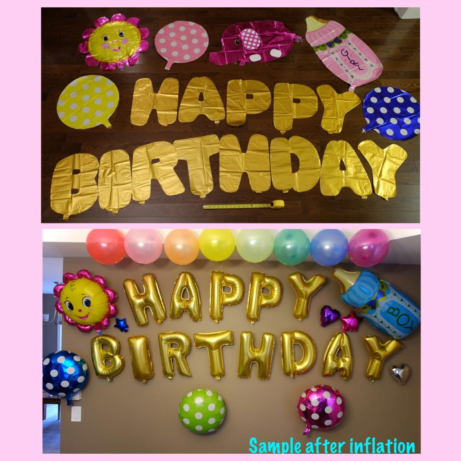 Best Birthday Balloons For Wall Decoration for sale in Stouffville ...