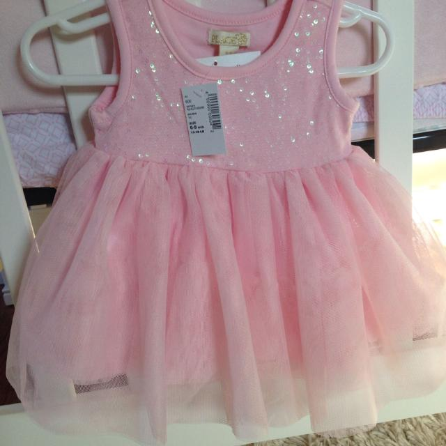b1a1e27ef573d Best Baby Girl Pink Sequin Dress, Children's Place Nwt 6-9 Mos for sale in  Newark, Delaware for 2019