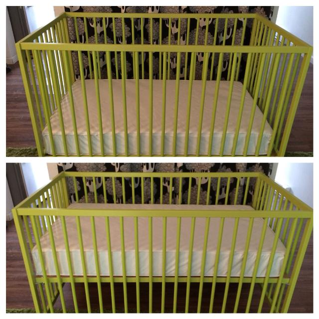 Find More Ikea Sniglar Crib In Very Good Condition Two Height