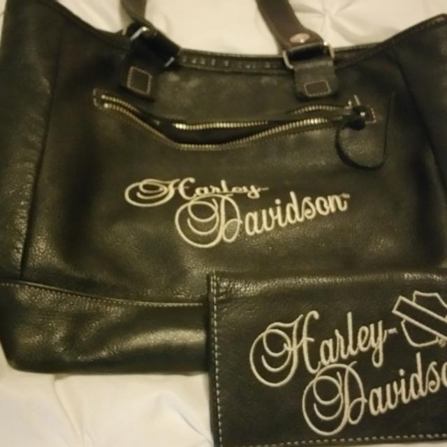 Harley Davidson Purse And Wallet