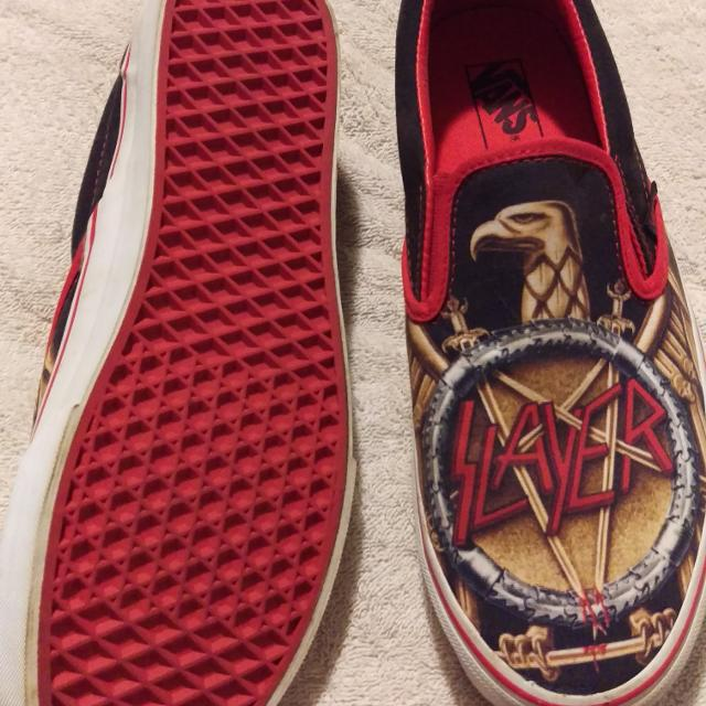 05f6a78fee01 Find more Vans Slayer Classic Slip On Shoes. Size 10 for sale at up ...