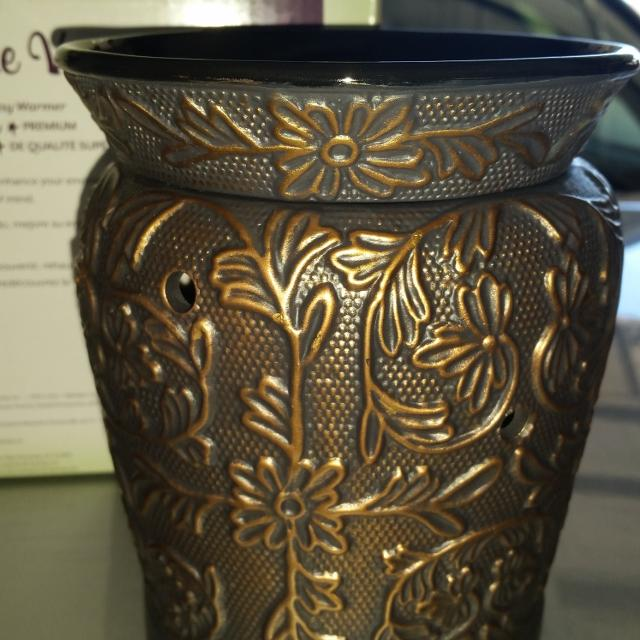 Find More Scentsy Bronze Vine Warmer New In Box For Sale At Up To