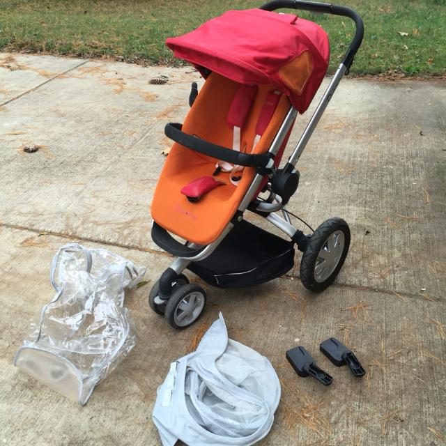 Find more Quinny Buzz Stroller In Juice Color - Includes Cup Holder