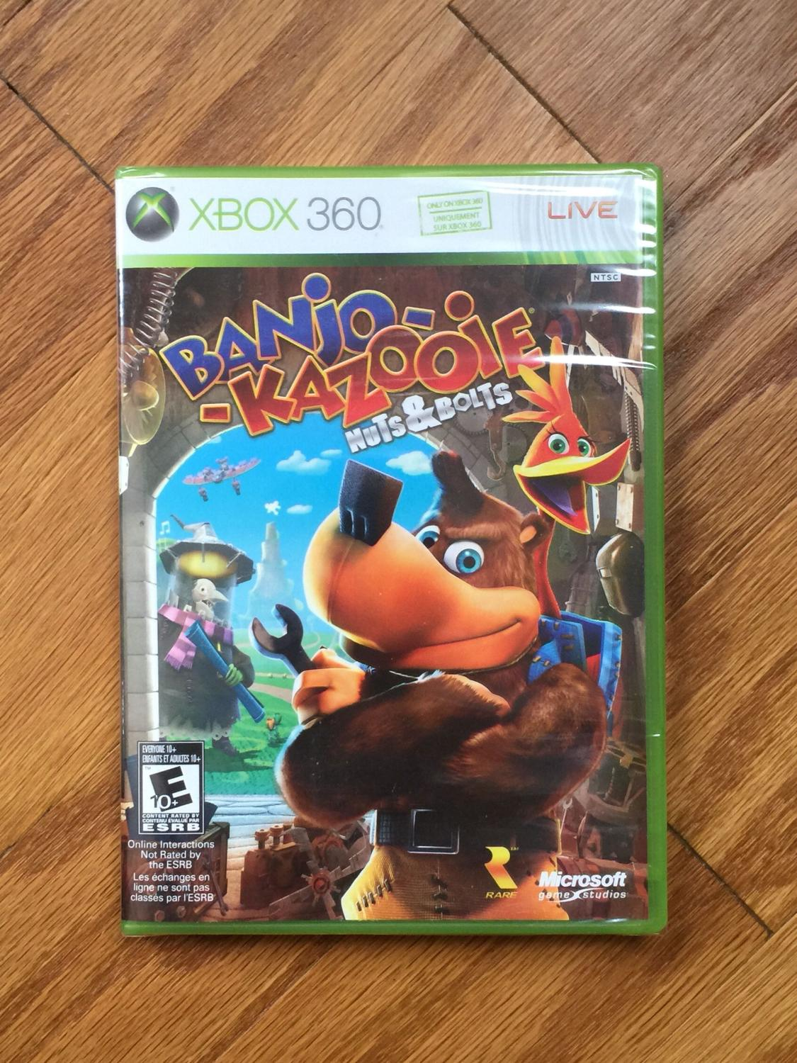 Banjo-Kazooie: Nuts & Bolts (Xbox 360) -Unopened