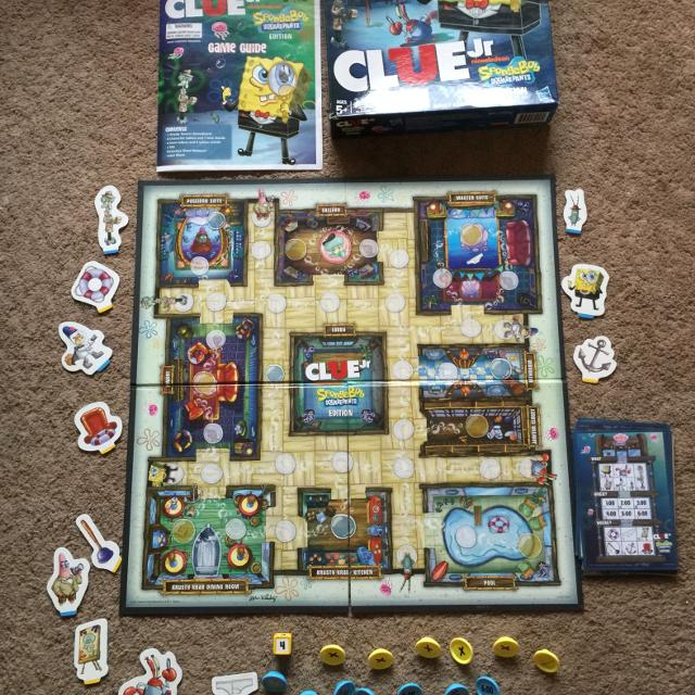 Find More Hasbro Nickelodeon Clue Jr Spongebob Squarepants Edition