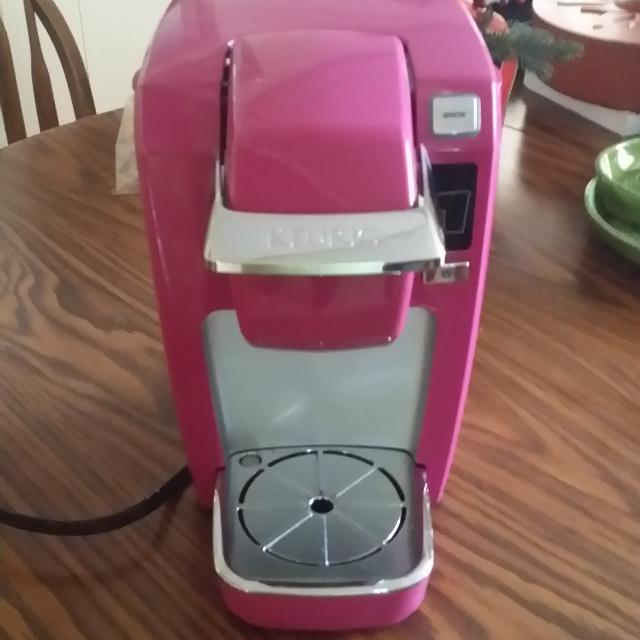 Pink Mold Coffee Maker : Find more Keurig Mini One Cup Coffee Maker. Bright Pink. for sale at up to 90% off - Peoria, IL