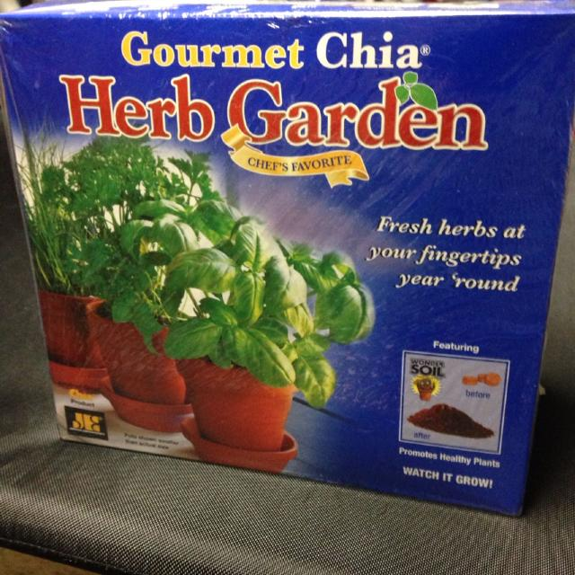 Find more Gourmet Chia Herb Garden $10 for sale at up to 90% off