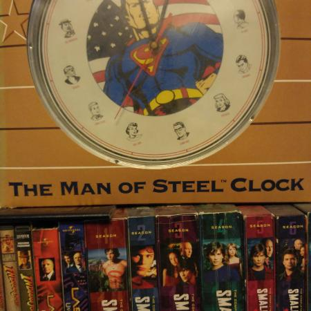 Man of steel clock never been out of... for sale  Canada