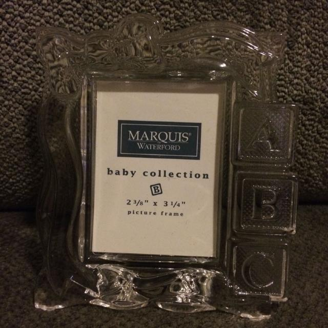 Find More Waterford Marquis Abc Lead Crystal Frame Fits Picture
