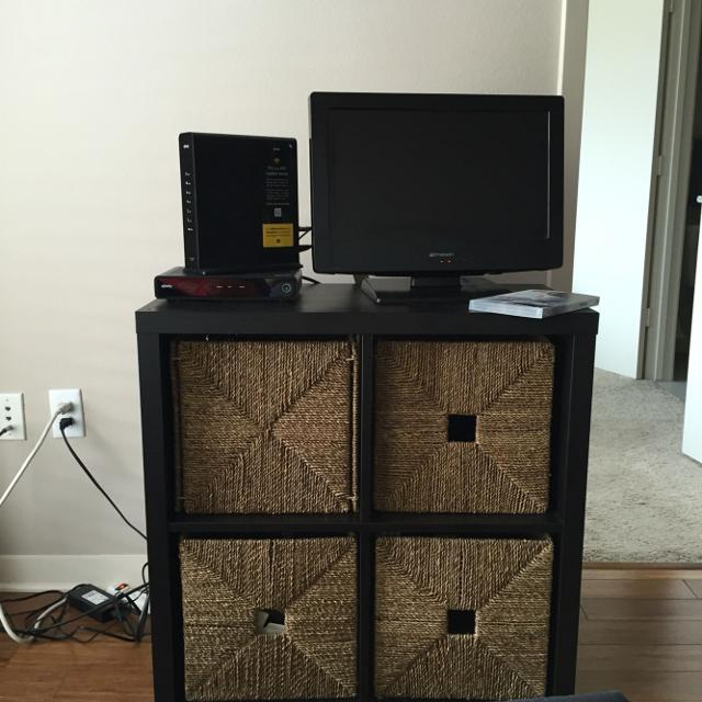 Best Tv Stand With Storage Wicker Baskets Tv For Sale In Houston
