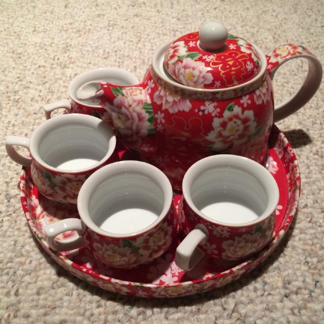 Chinese Tea Ceremony Wedding Set LNIB