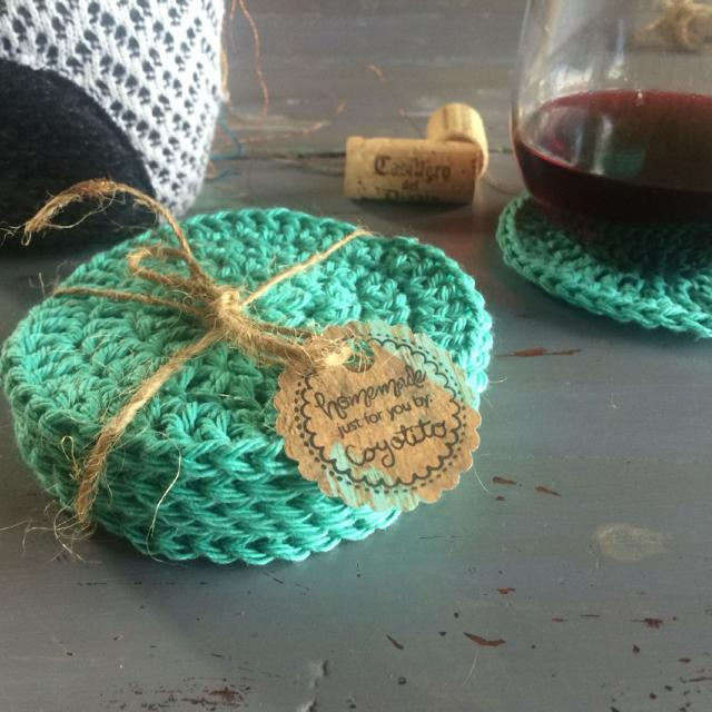 Best Set Of 6 Hand Made Crochet Coasters The Perfect Gift For