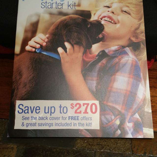 Find More Petsmart Puppy Starter Kit Coupon Book For Sale At Up To