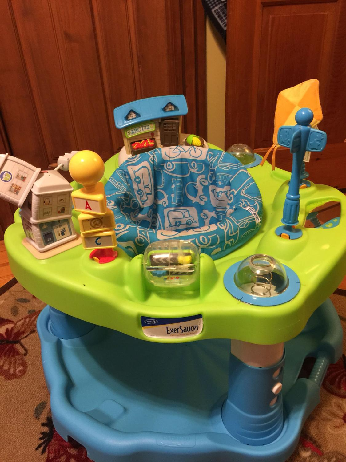 Find More Evenflo Exersaucer Exercise Body And Mind For Sale At Up