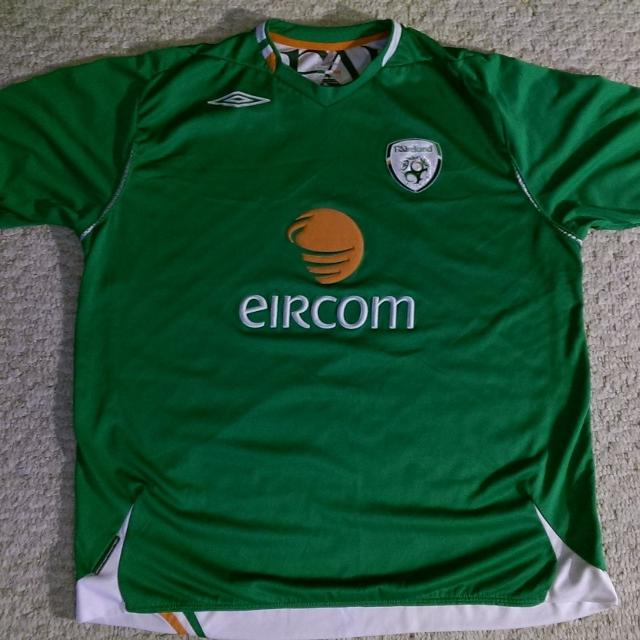 100% authentic b2aae 79f93 Ireland Soccer Jersey