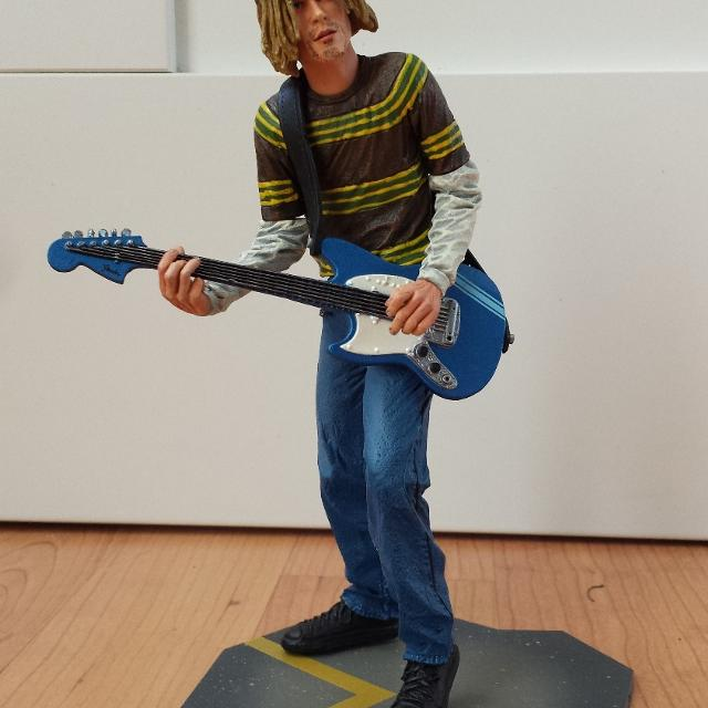 Kurt Cobain Mustang Smells Like Teen Spirit