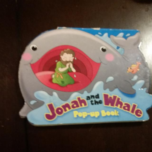 Find More Jonah And The Whale Popup Book For Sale At Up To 90 Off