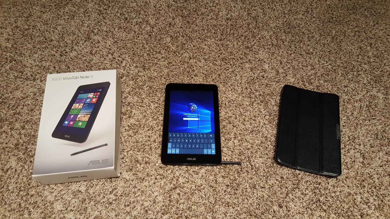 Asus windows 10 Tablet 8