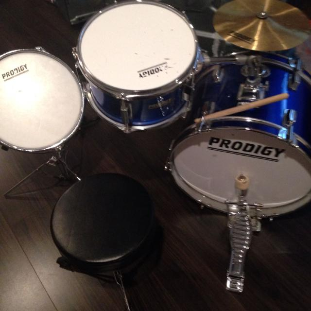 Kids Prodigy Drum Set Perfect For Young